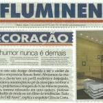 O Fluminense - 5 de novembro - em baixa